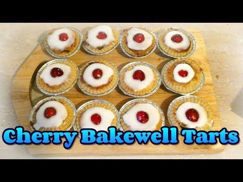 Cherry Bakewell Tarts Recipe