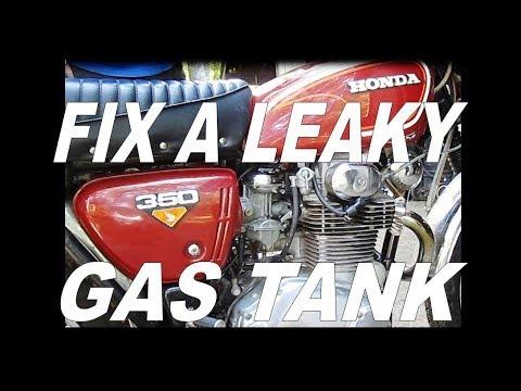 Repair a Leaky Gas Tank by Soldering