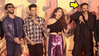 Rohit Shetty Makes FUN of Sara Ali Khan's Acting Debut In Simbaa & Kedarnath In Public