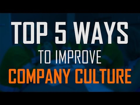 How to improve company culture and increase capacity for change