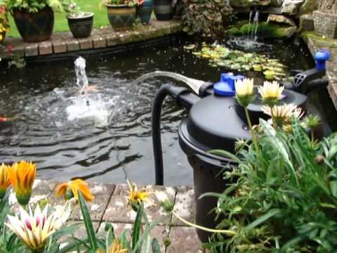 Pressurised Pond Filter Set Up (PFC-5000) - All Pond Solutions