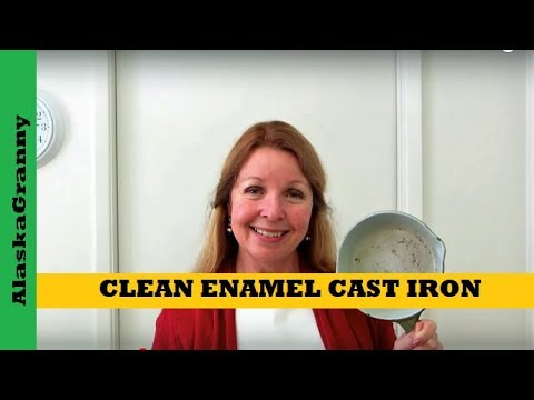 How To Clean Enamel Cast Iron Pots And Pans