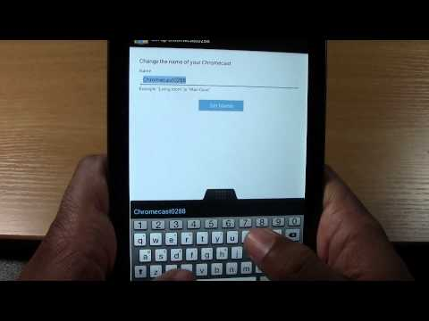 Chromecast - How to Setup (Part 2) From an Android Phone or Tablet | H2TechVideos