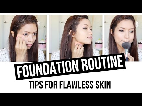 Drugstore Foundation Routine (Beauty Tips for Flawless Skin)