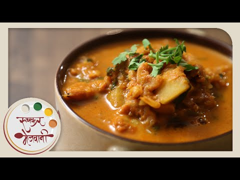 Sukat Kalvan | Quick Dry Prawns Curry | Recipe by Archana in Marathi | Easy To Make