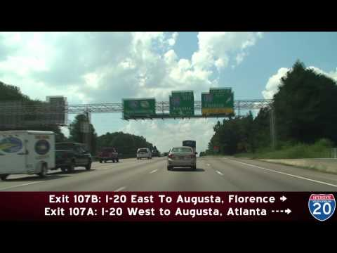 I-126 & I-20 Columbia, SC
