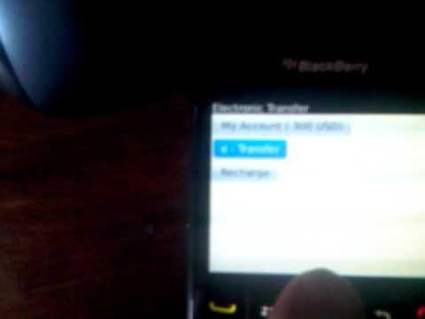 blackberry money transfer over bbm