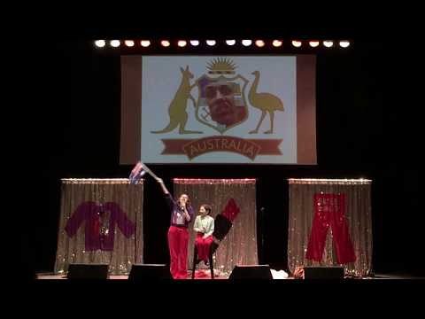 Australian National Anthem by Miranda Sings (Miranda Sings Live in Sydney 2017 Night)