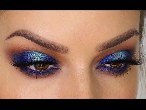 Two-Toned Blue Eyeshadow MakeUp Tutorial | Shonagh Scott | ShowMe MakeUp