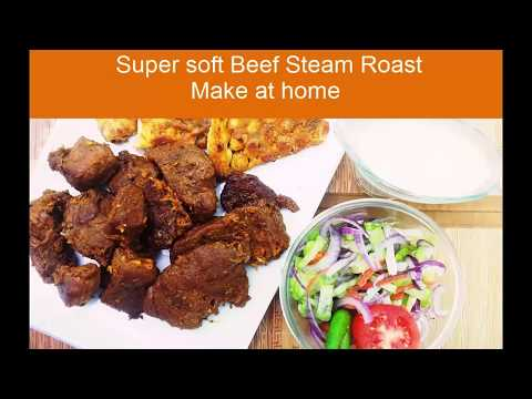 Super soft Beef steam roast: Make at home