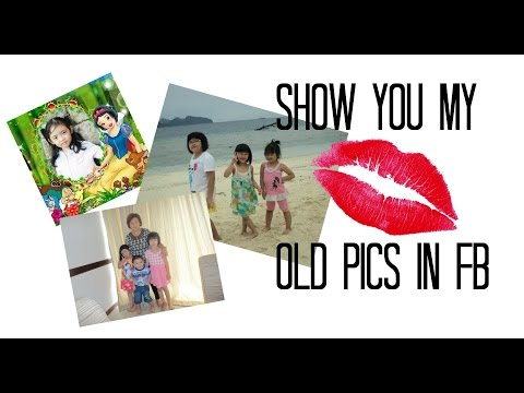 Show you my old pics in FB | (Vlog) Random Vid