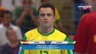 Falcão vs Espanha ● Final da Copa do Mundo de Futsal 2012