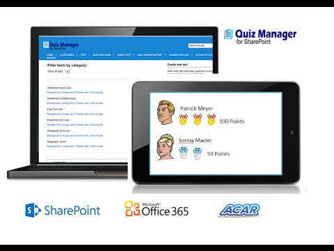 ACAR Quiz Manager for SharePoint