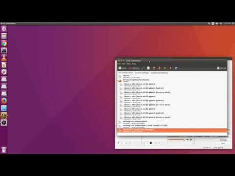 Change Grub boot menu on ubuntu