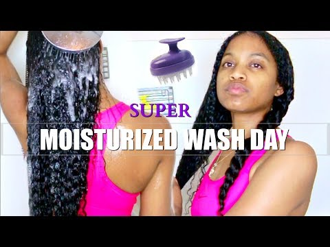 Full Updated Moisturized Wash Day Routine 2018