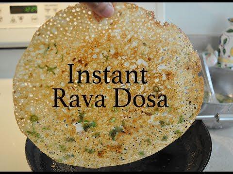 Rava Dosa | Instant onion Rava Dosa recipe  By Bhanu Patel