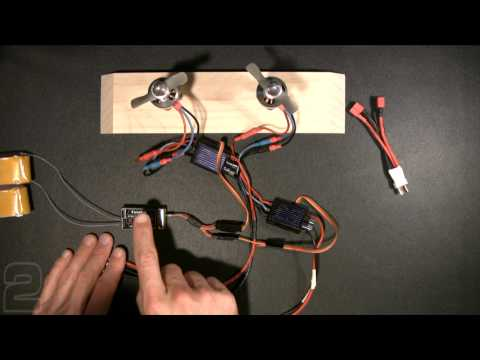 Multi-engine ESC Wiring