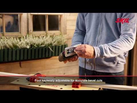 Skil 4250: Jigsaw with variable speed and keyless blade change