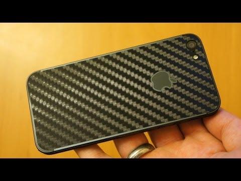Armor BodyGuardz Carbon Fiber iPhone 5S / 5 Skin Review & Install Guide