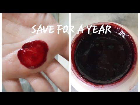 Lip balm /Lip gloss/Lip tint/Cheek tint from Beet root juice