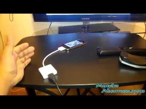 Como conectar un iPhone al tv, como ver tus películas del iPhone en el tv