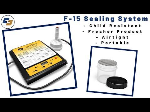 Cooljarz™ Hermetic Seal Sealing Machine P/N F-15 Sealer