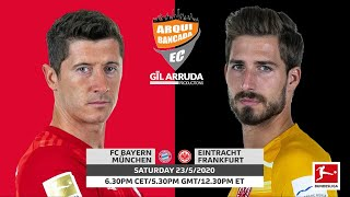 FC Bayern München x Eintracht Frankfurt | Rodada 27 do Campeonato Alemão 2019/2020
