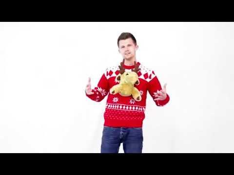 3-D Christmas Sweater