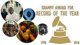 Download Grammy Award for: Record of the Year (1978-2018) Video