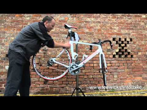 Cleaning road bike with Fenwick's