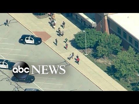 2 victims in Indiana school shooting, suspect in custody