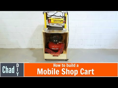 Build a DIY Mobile Shop Cart