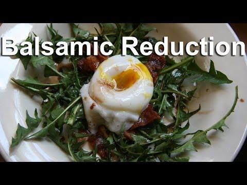Balsamic Vinegar Reduction for Salad Dressing - GardenFork
