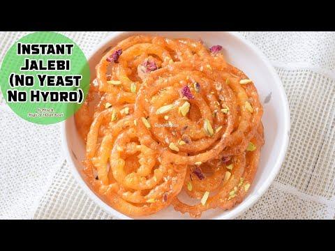 Instant Jalebi (No Yeast No Hydro) Recipe - Priya R - Magic of Indian Rasoi