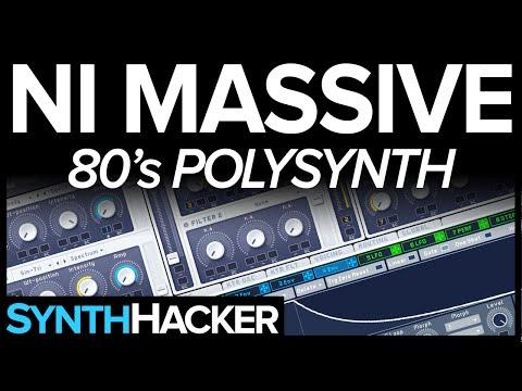 Massive Tutorial - 80's Analog Style Polysynth Keys