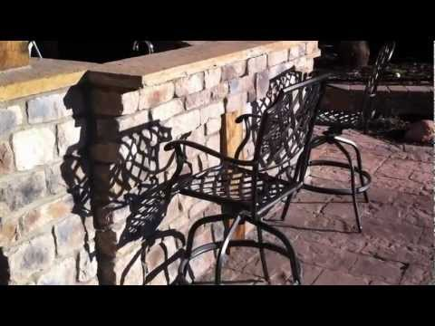 Installing veneer stone and Patio pavers