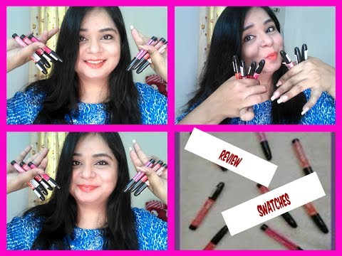 Review Swatches Lakme Enrich Lip Crayons   Angels reborn