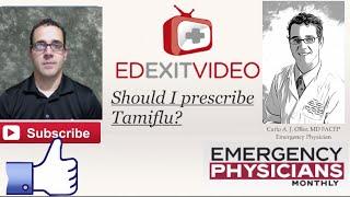 Should You Prescribe Tamiflu