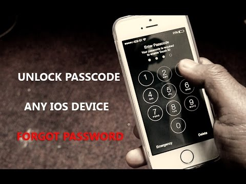 How to unlock any iphone without passcode 2017