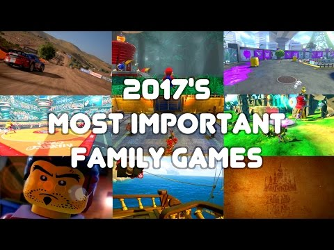 Top 20 Family Games 2017 (PlayStation, Xbox, Switch, iOS, PC, Android)