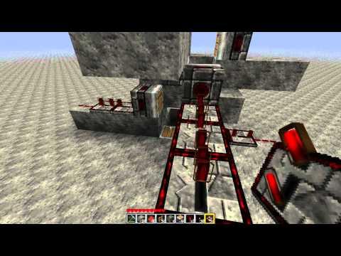 Minecraft Simon's Piston Elevator [1.7.3] [TUTORIAL]