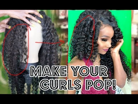 How to bring your curls back to LIFE! + FREE HAIR!!! FT
