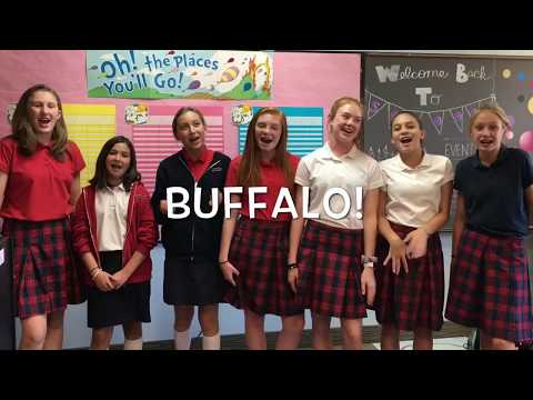 Student Council Shows Us How To Buffalo!