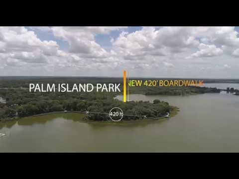 Palm Island Park - Mt. Dora, FL - New 420' Boardwalk