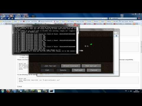Setup Minecraft 1.3.1 Bukkit Server Tutorial + Install Plugins