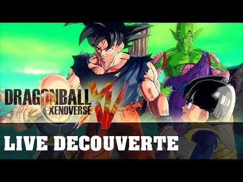 Dragon Ball Xenoverse | Live Découverte Beta