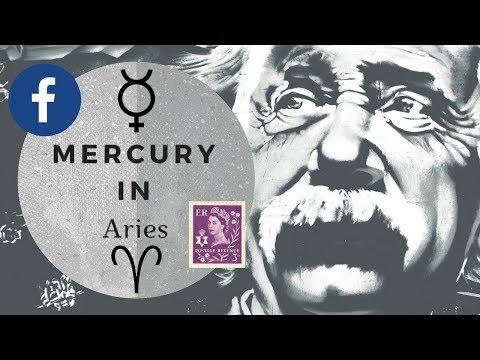 Mercury in Aries - The Fierce Leader