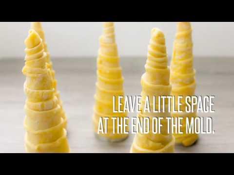 Cream horns recipe