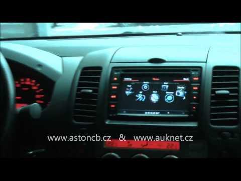 Montáž GPS navigace TID-C001-S100 do Nissan Navara, parkovací kamera