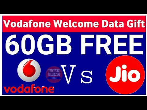 Vodafone Welcome Data Gift offer 60GB FREE